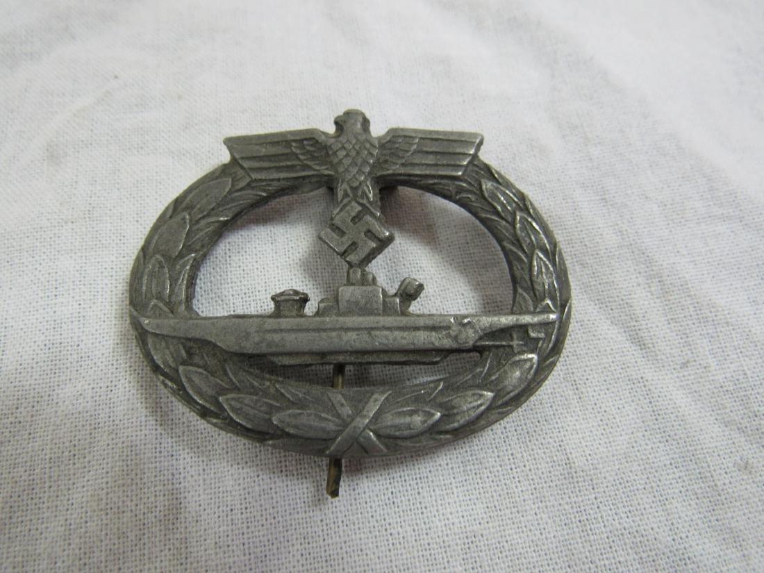 WWII Nazi Germany Submarine War Badge