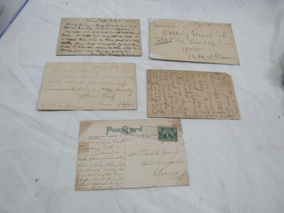 Thomas Goring CDV, 5 Postal Cards, and Les Miserables - 5