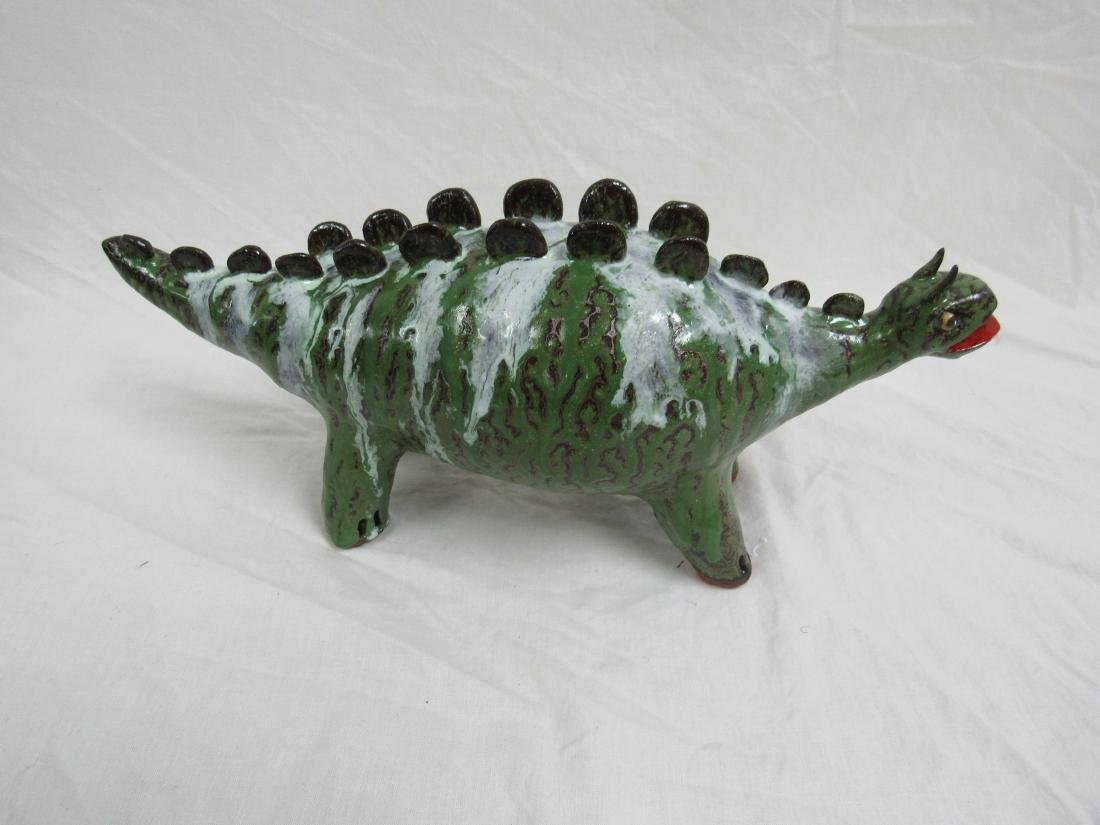 Southern Folk Art Marvin Bailey Dinosaur, Stegosaurus