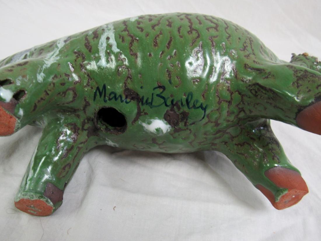 Southern Folk Art Marvin Bailey Dinosaur, Stegosaurus - 4