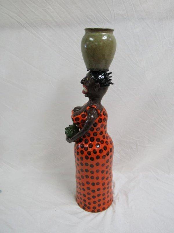 Southern Folk Art Marvin Bailey Black Americana - 2