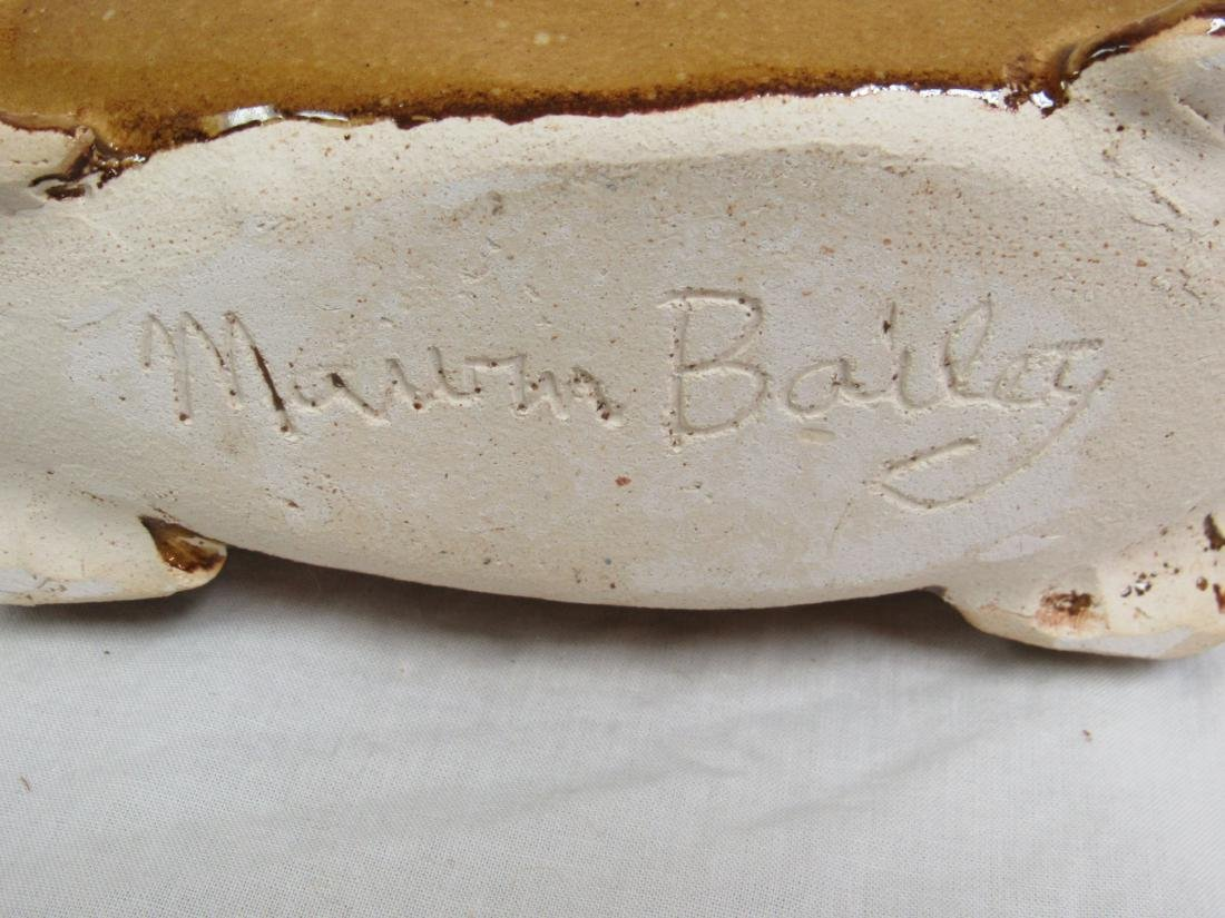 Southern Folk Art Marvin Bailey Pig Jug - 5