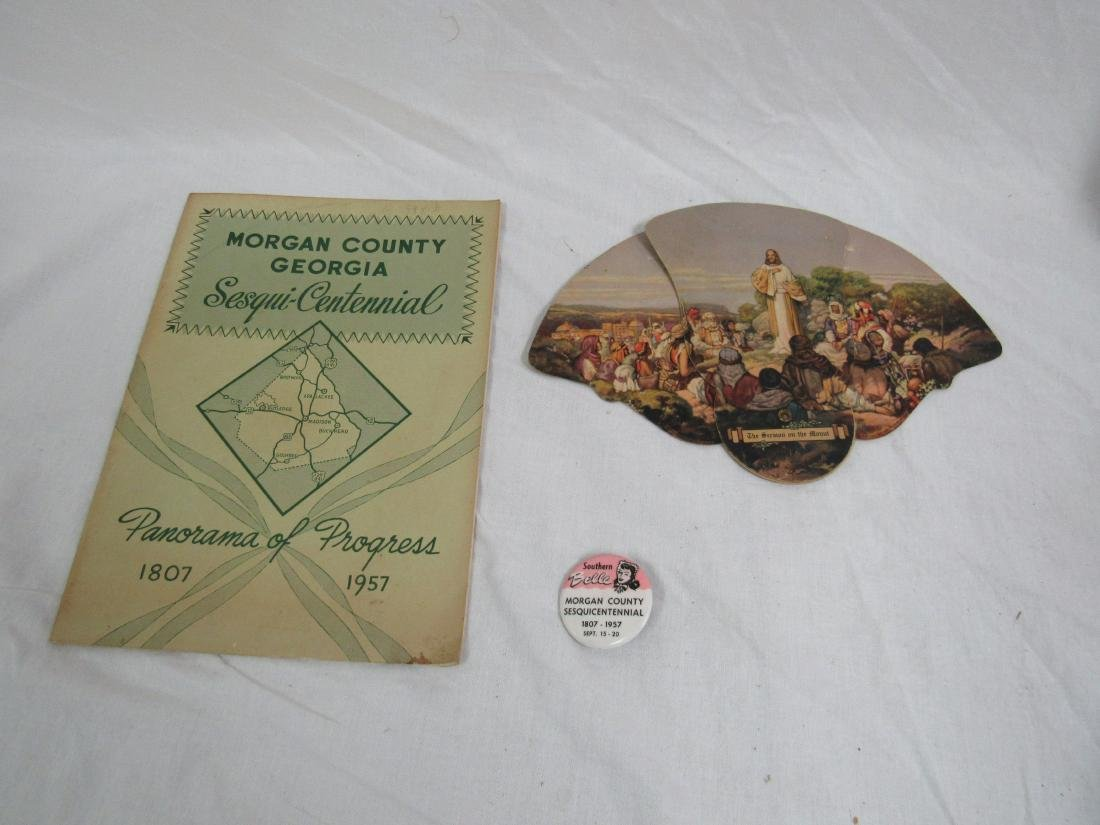 Lot of 3 Morgan County Georgia Memorbilia