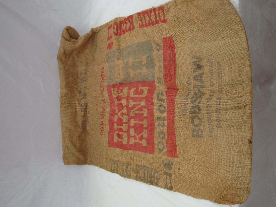 Dixie King II Burlap Cotton Seed Sack