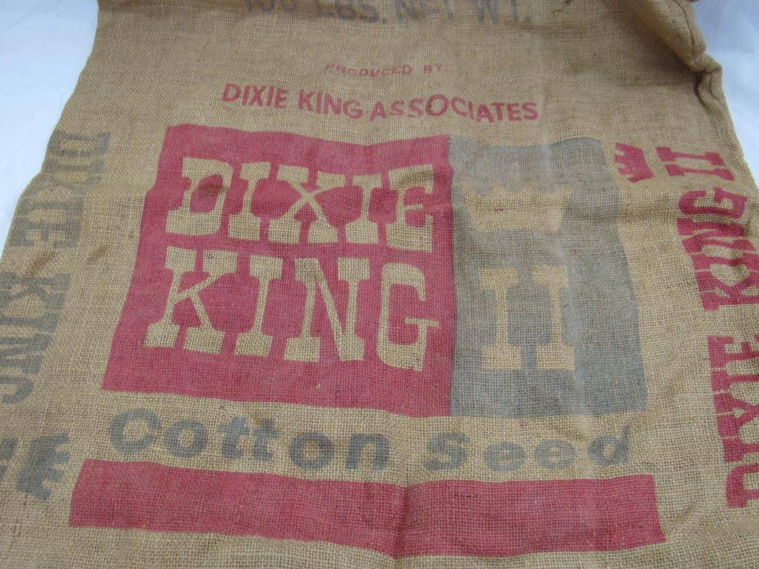 Dixie King II Burlap Cotton Seed Sack - 2