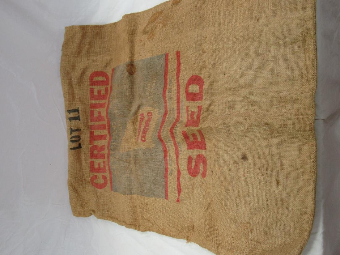 Dixie King II Burlap Cotton Seed Sack - 3