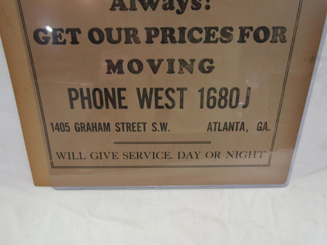 C.C. Bragg Transfer Advertising Flyer - 3