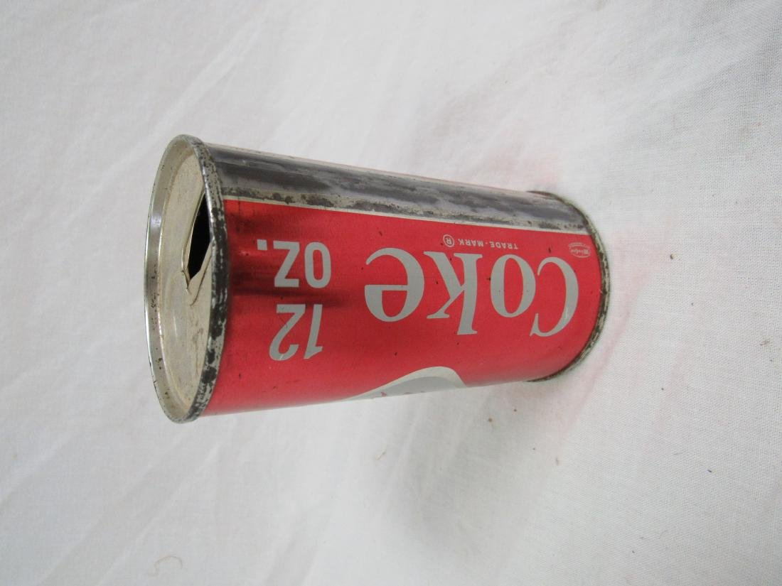 Vintage 1950's Diamond Coke Can - 2