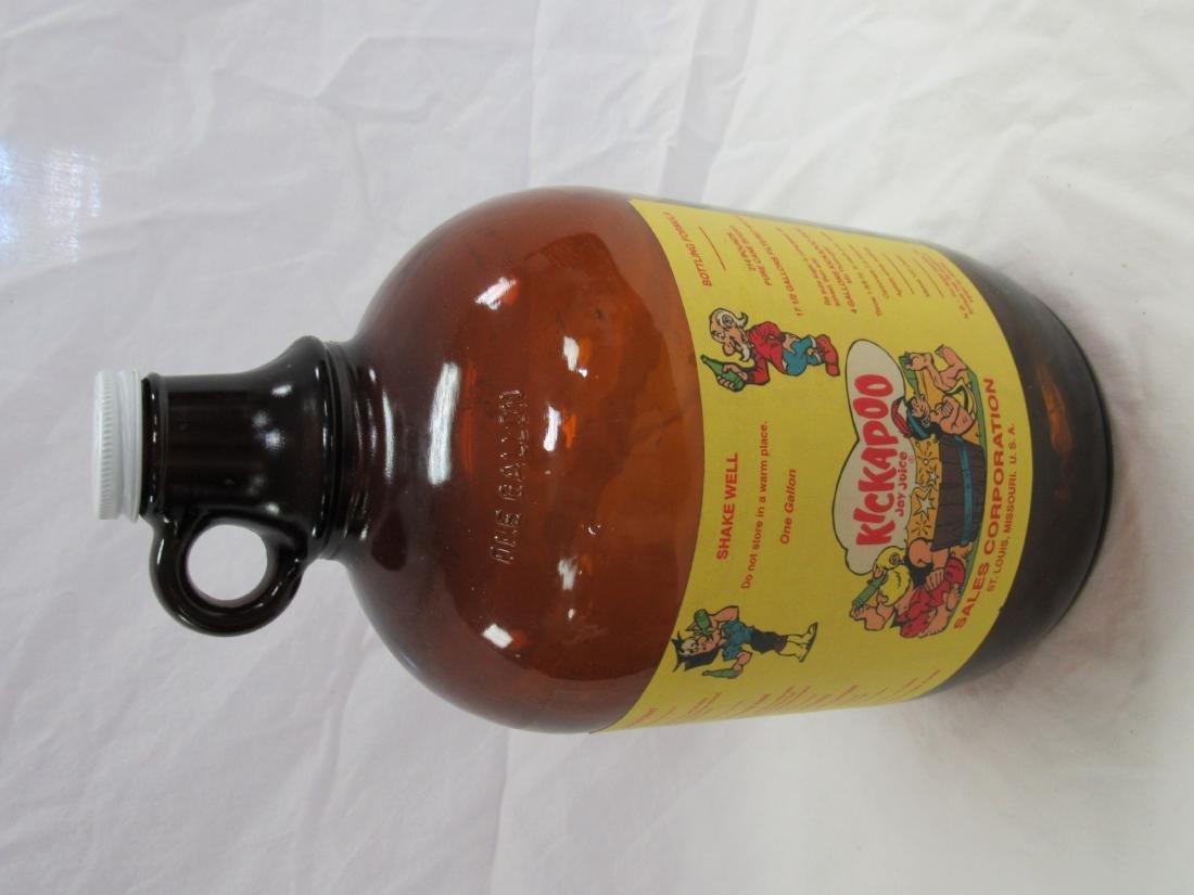 Vintage Kickapoo Joy Juice Syrup Jug