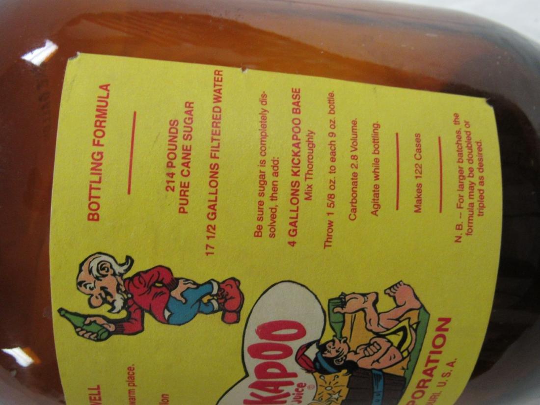 Vintage Kickapoo Joy Juice Syrup Jug - 3