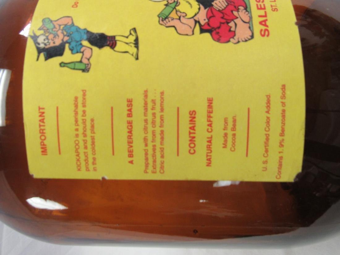 Vintage Kickapoo Joy Juice Syrup Jug - 4