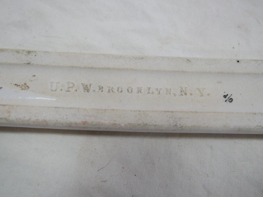 Antique Baraca Parlor Porcelain Sign - 3