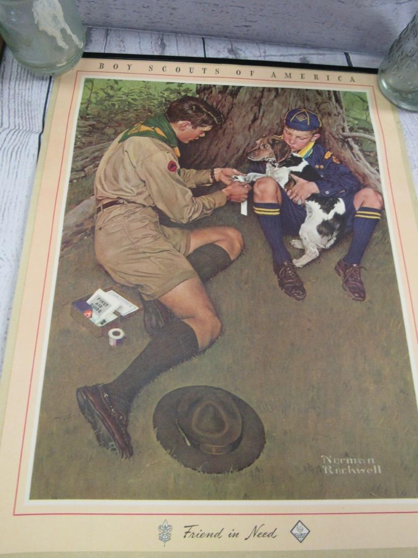 NOS Boy Scouts of America 1949 Calendar - 2