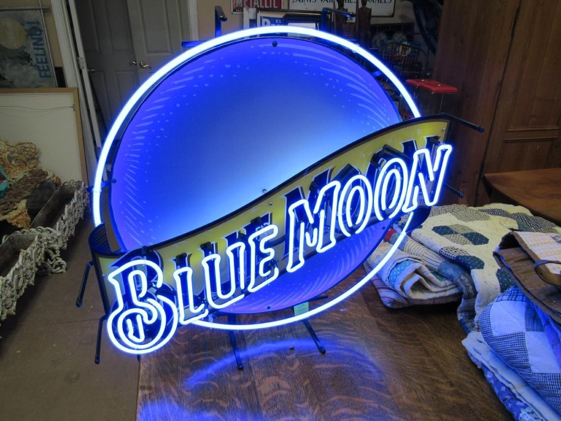 Blue Moon Beer Neon Sign - 2