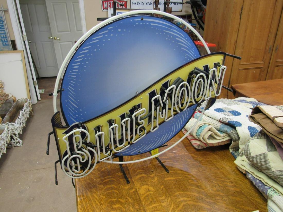 Blue Moon Beer Neon Sign - 3