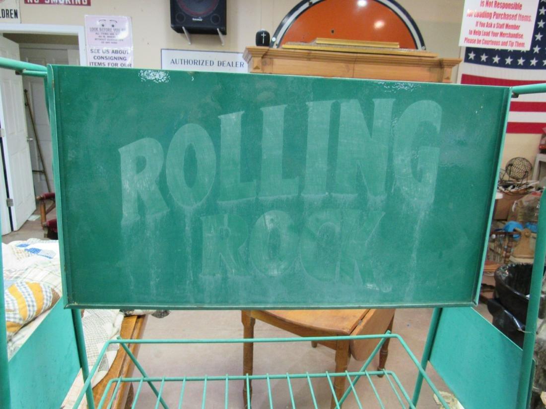 Rolling Rock Beer Bottle Rack - 2