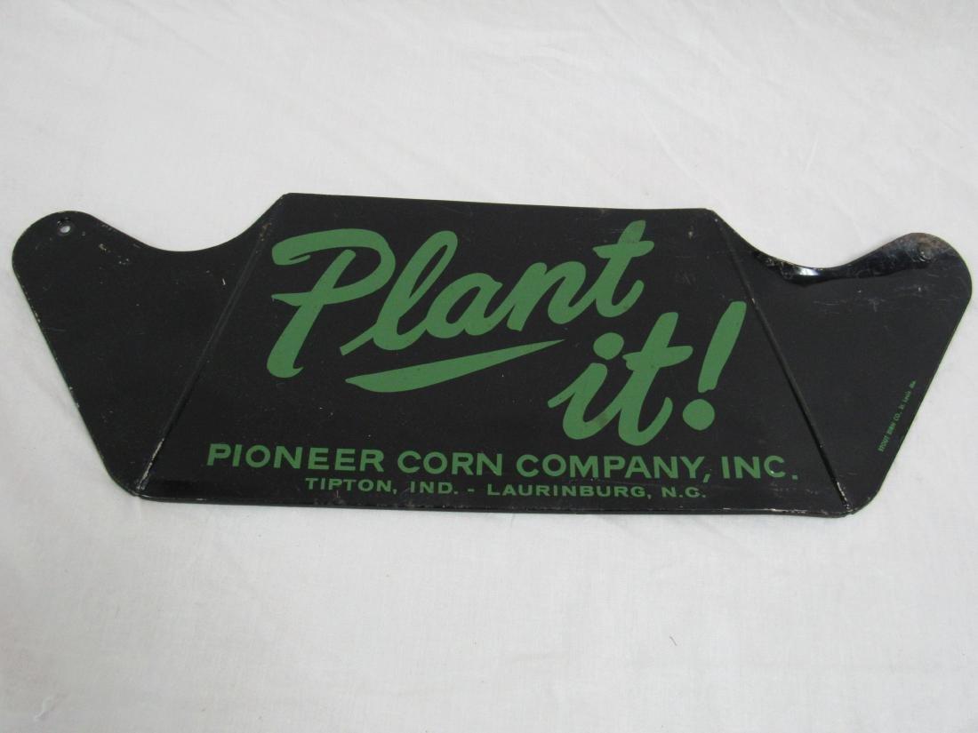 Pioneer Corn Company Plant It Sign