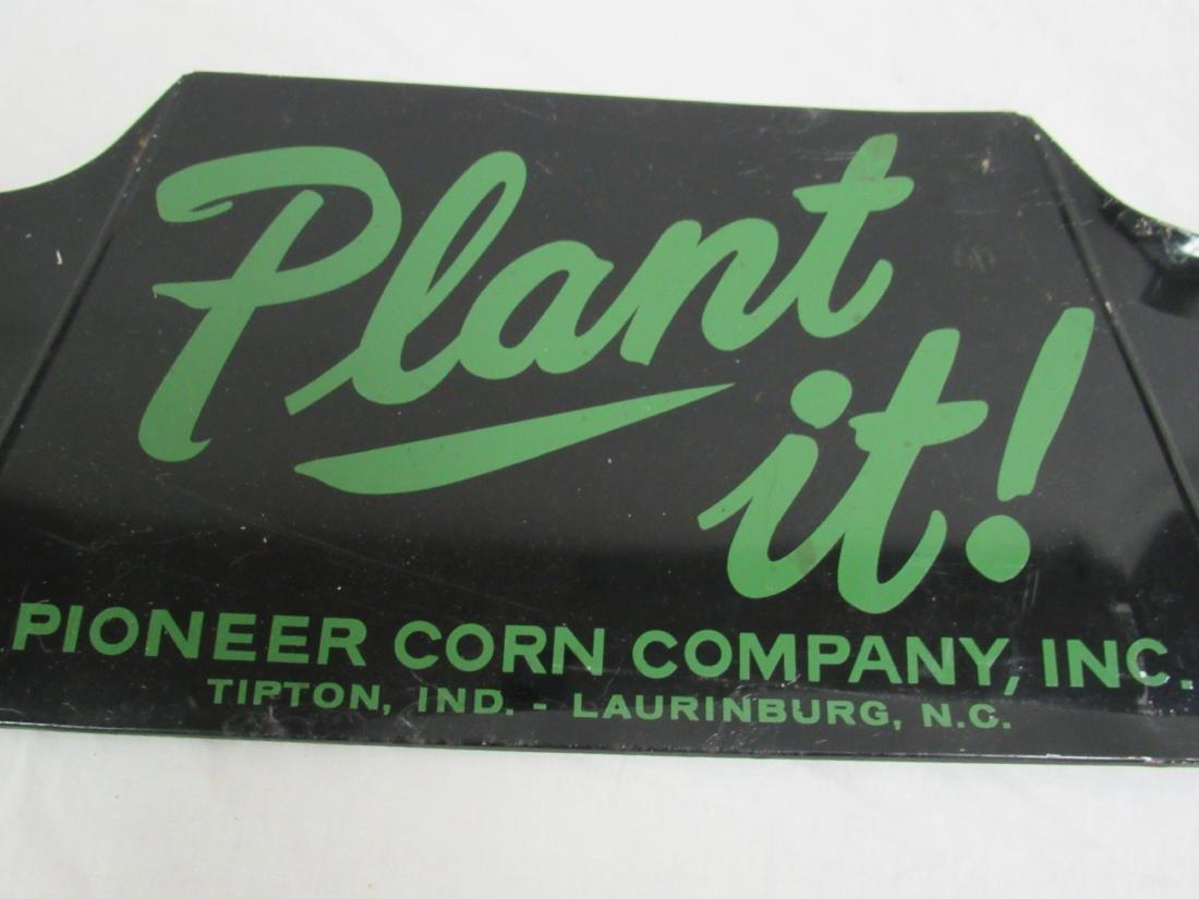 Pioneer Corn Company Plant It Sign - 2