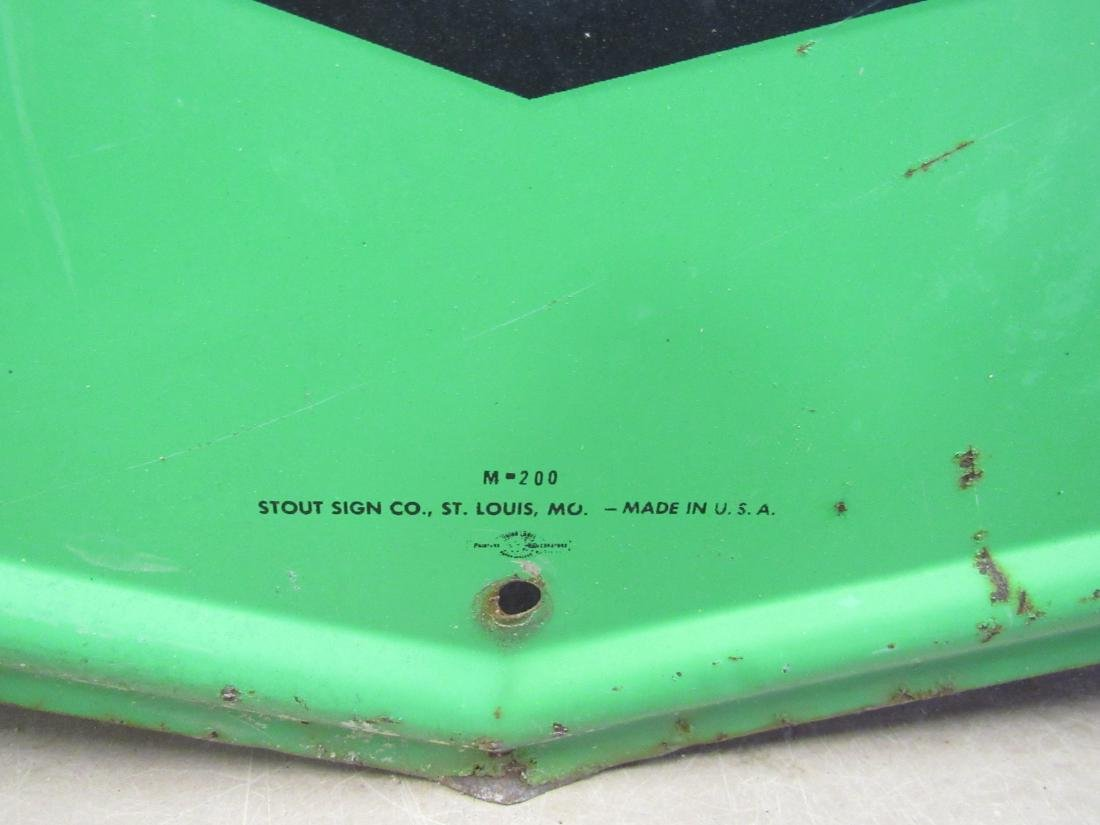 Stout Sign Company S&H Green Stamps. Single Sided Sign. - 4