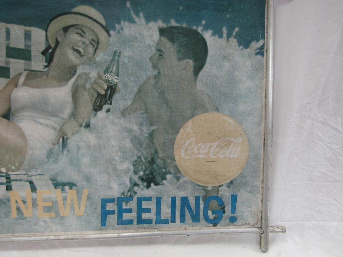 Vintage Coca-Cola Carboard Sign - 2