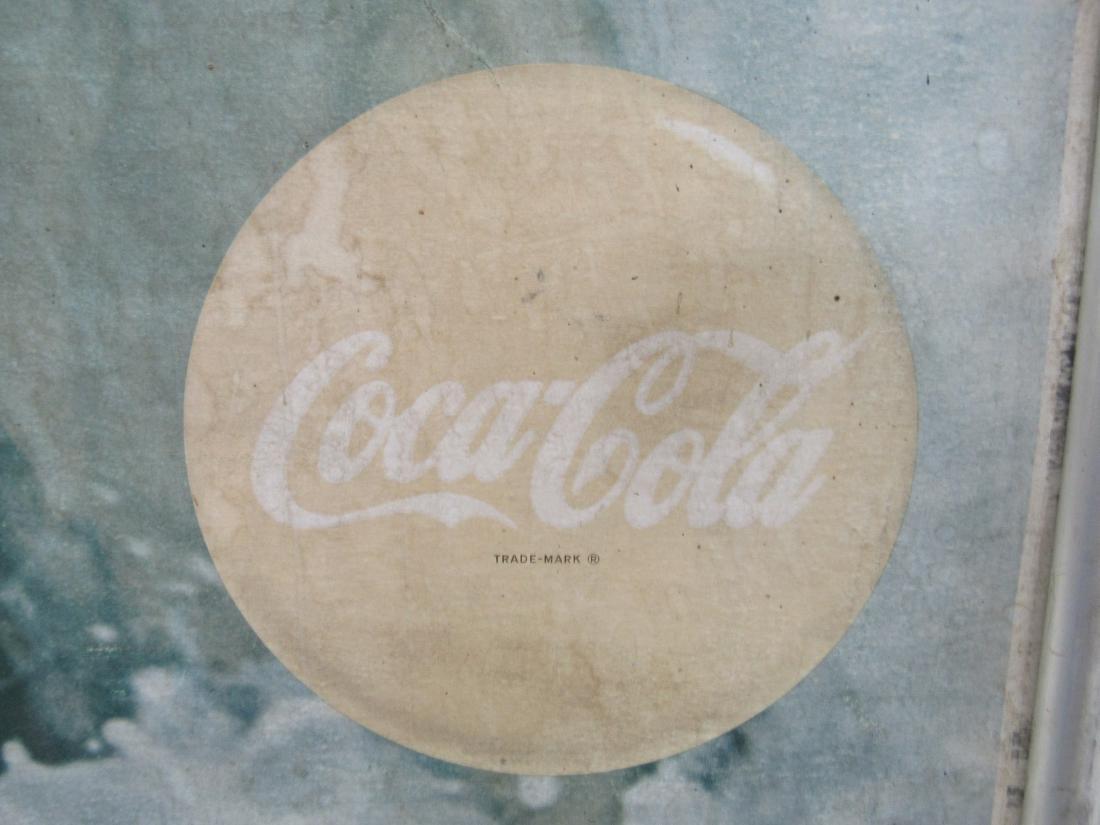Vintage Coca-Cola Carboard Sign - 4