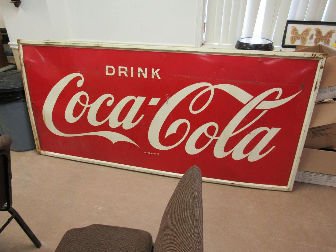 1950's Robertson Drink Coca Cola Sign