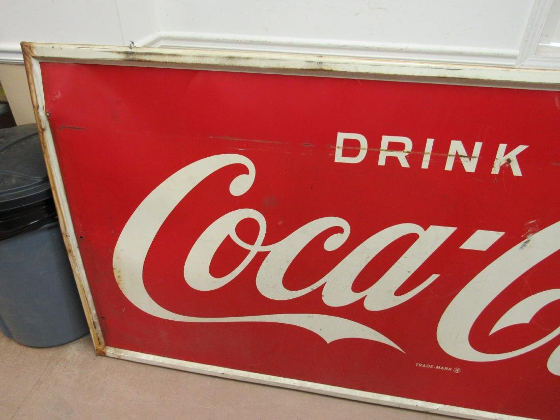 1950's Robertson Drink Coca Cola Sign - 3