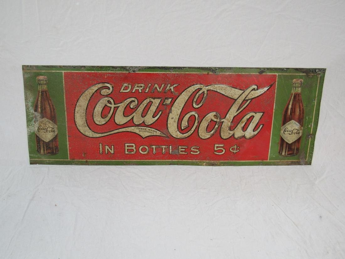1908 Coca-Cola Tin Tacker
