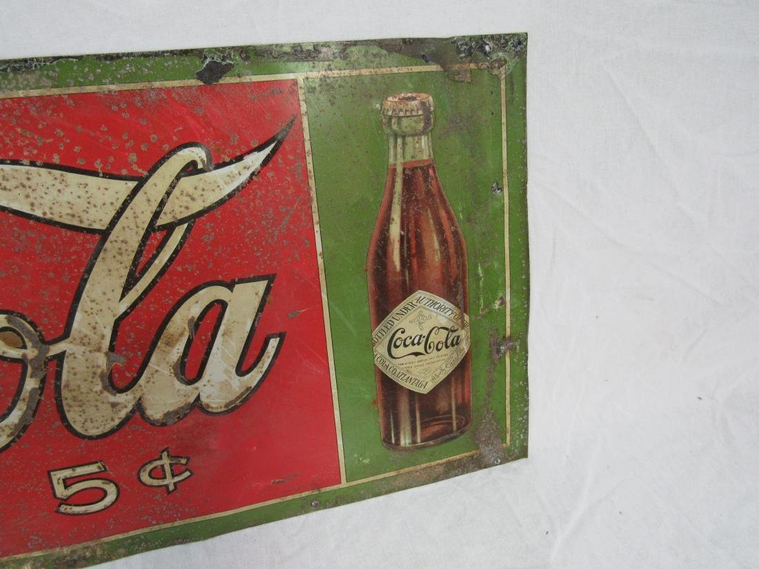 1908 Coca-Cola Tin Tacker - 4