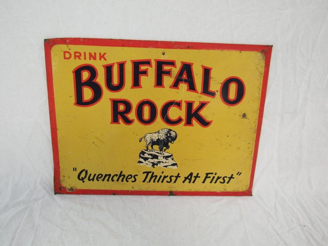 Antique Buffalo Rock Gingerale Sign