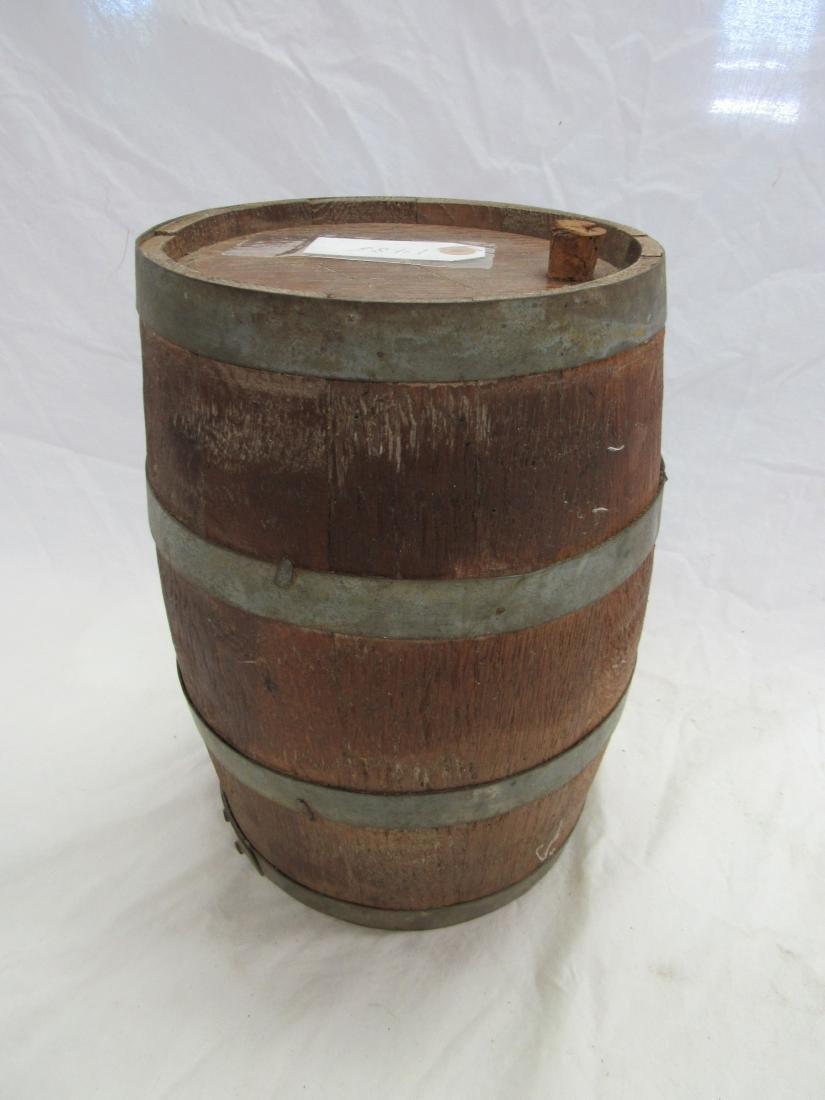 1800's Wooden Gun Powdered Keg