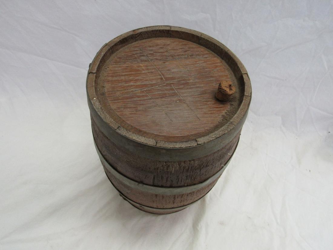 1800's Wooden Gun Powdered Keg - 2