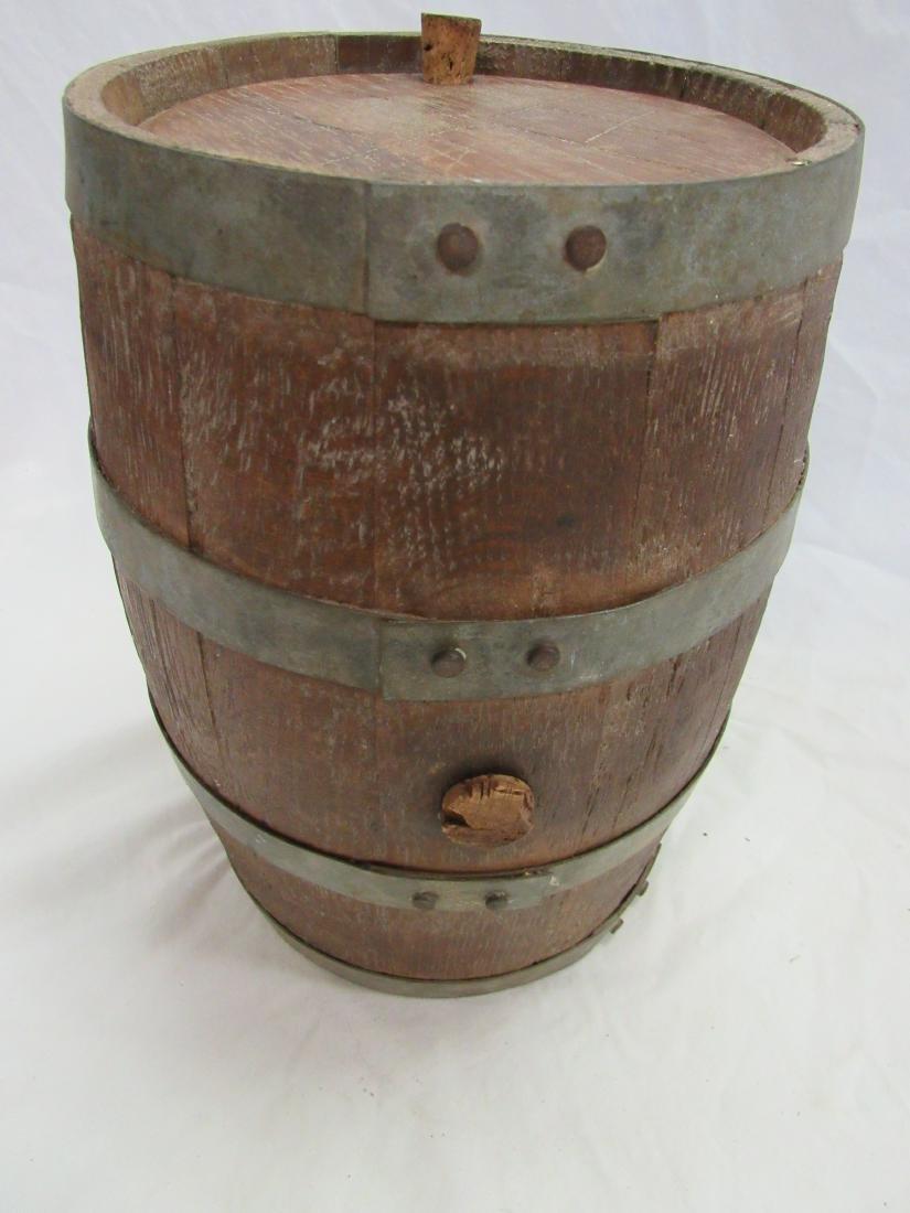 1800's Wooden Gun Powdered Keg - 3