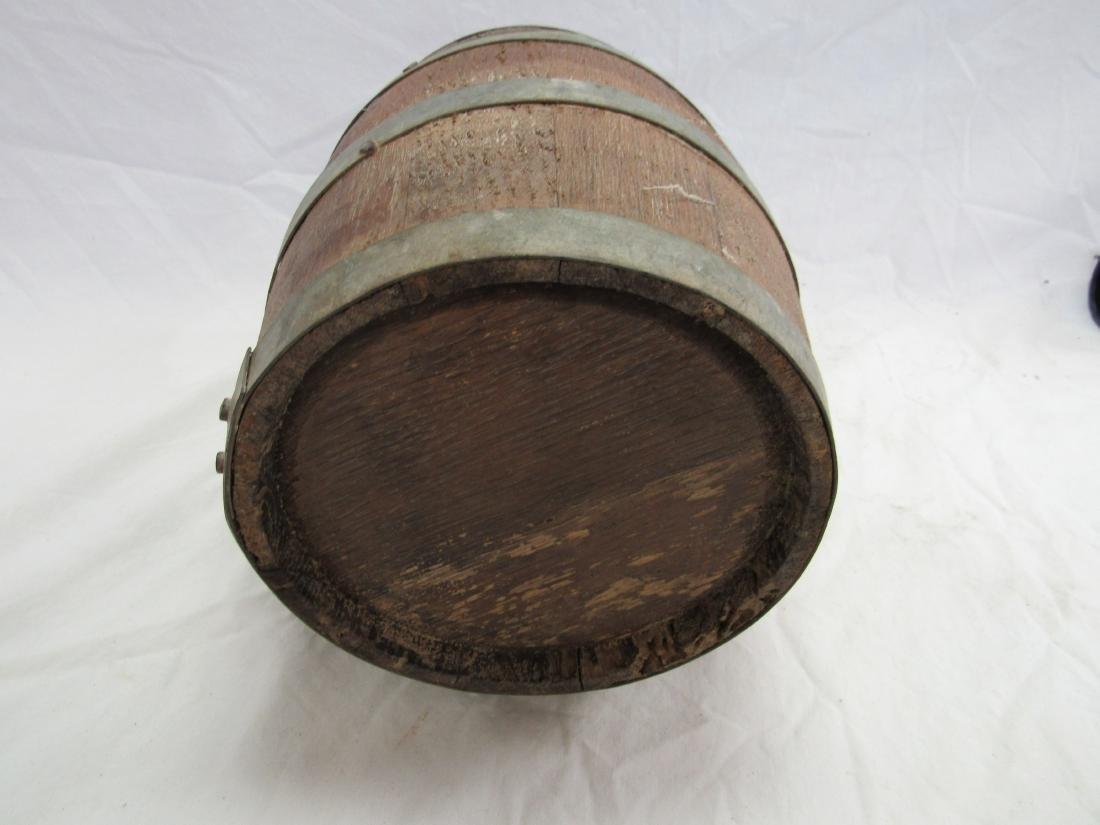 1800's Wooden Gun Powdered Keg - 4