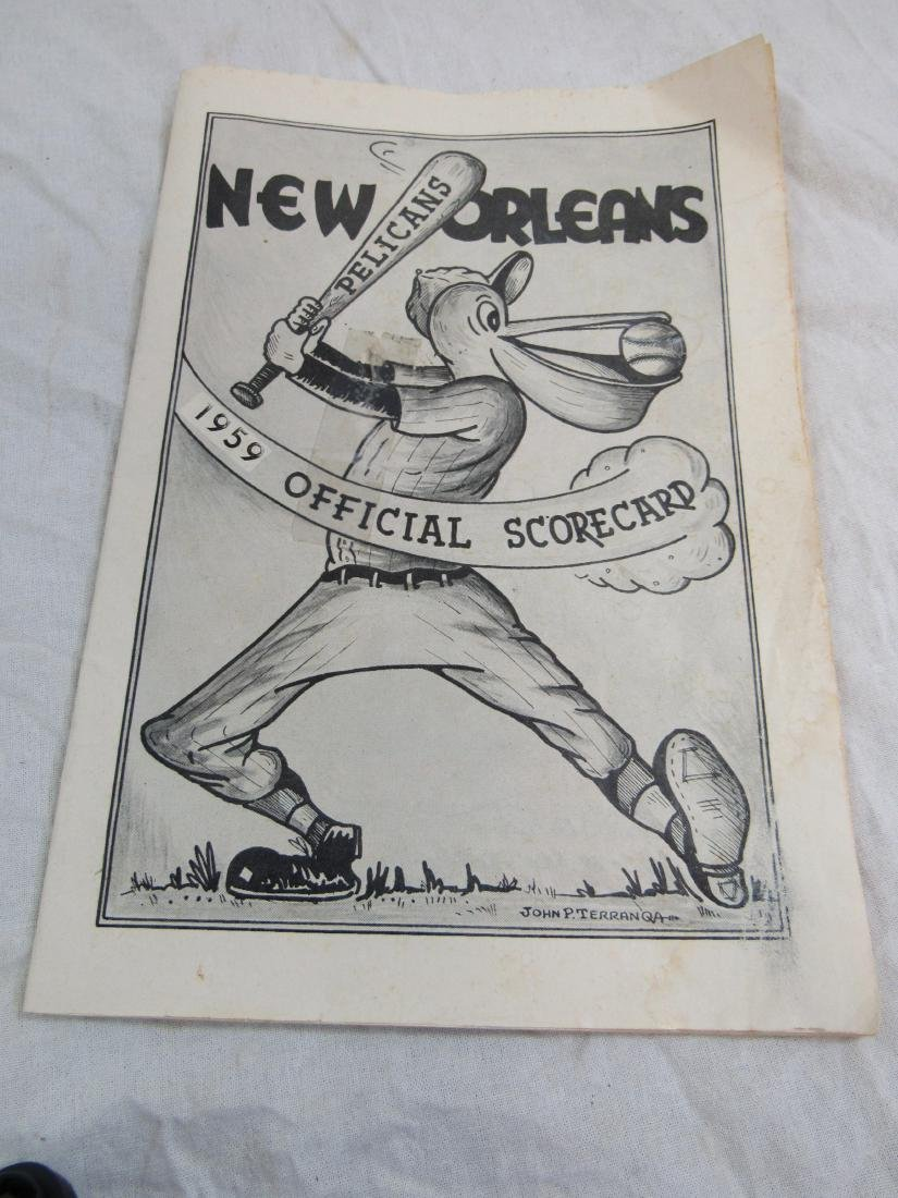 1959 New Orleans Pelicans Score Card