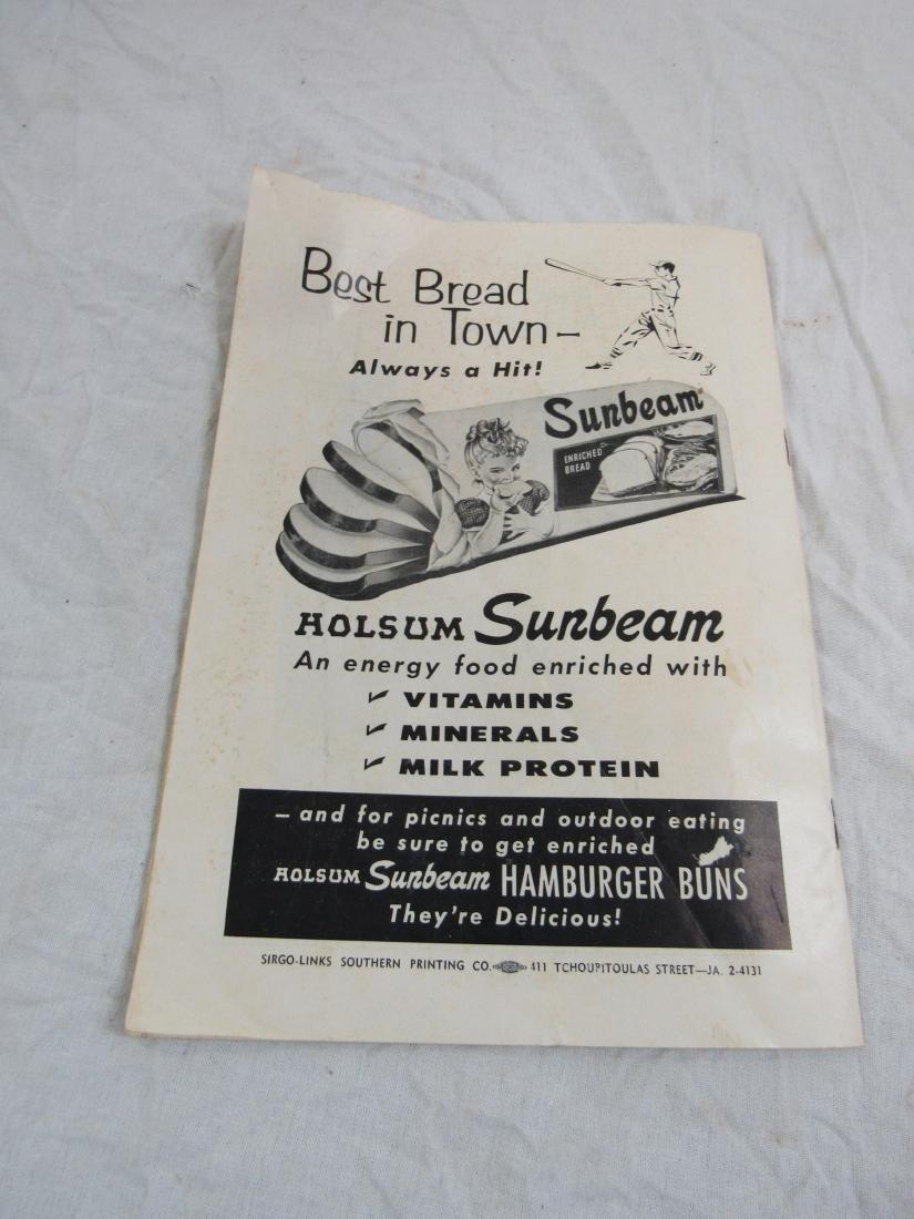 1959 New Orleans Pelicans Score Card - 7