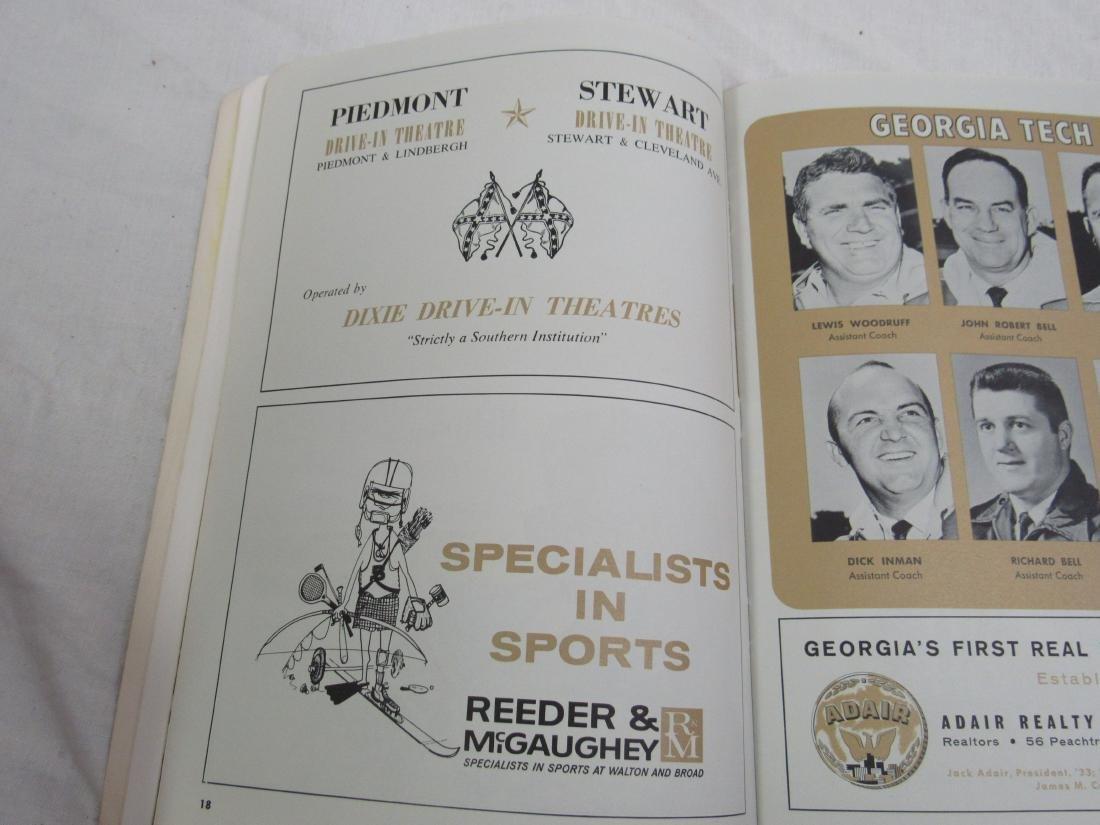 Vintage 1964 Georgia Tech vs Tulane Homecoming Souvenir - 7