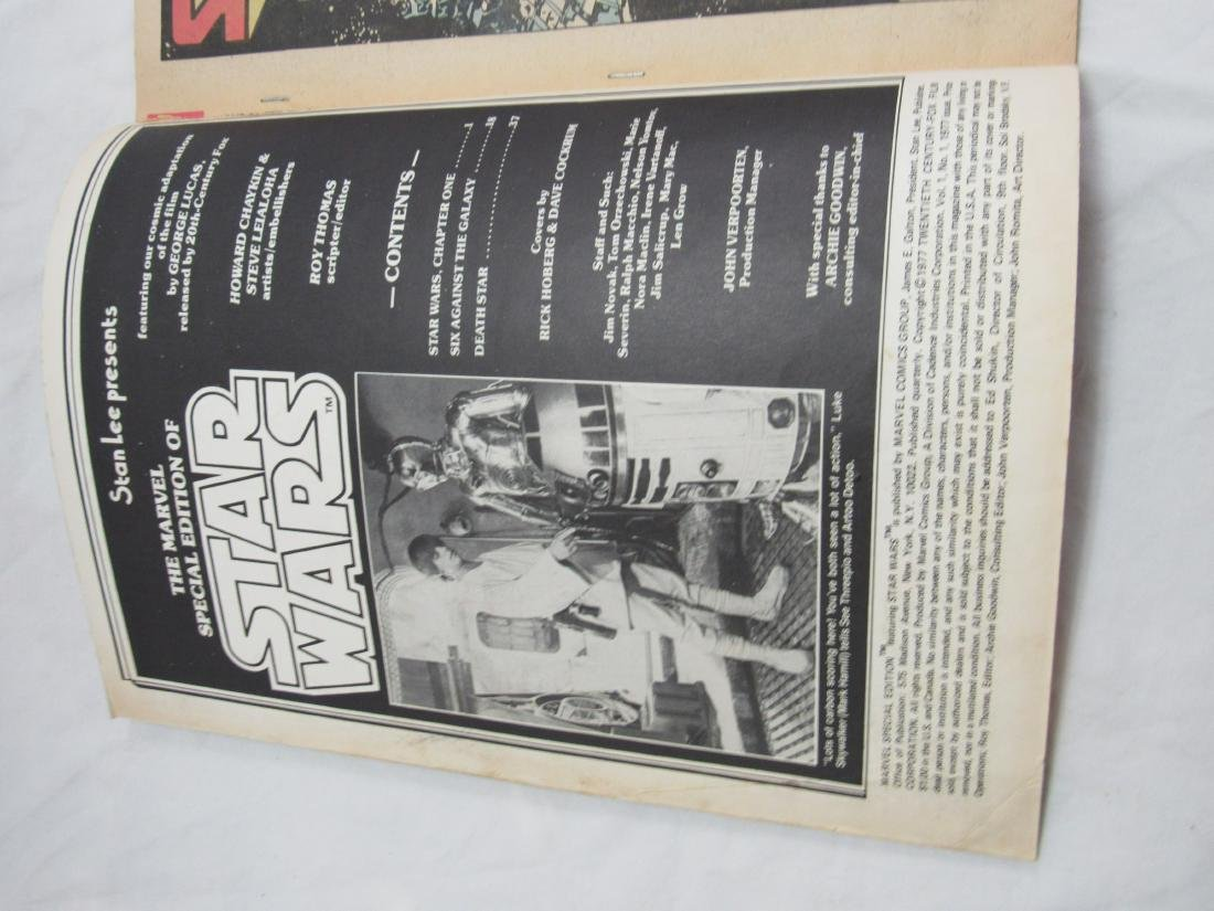 1977 Star Wars #1 Comic Book - 4