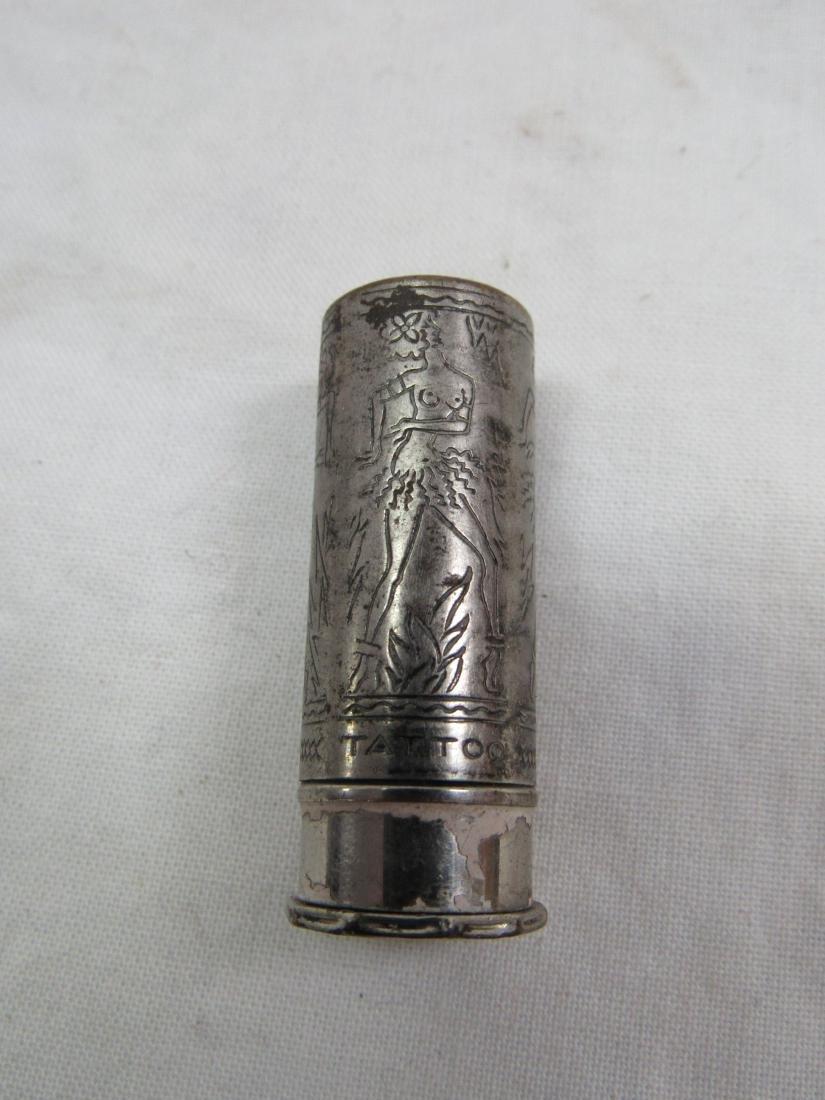 Antique Tattoo Black Magic Lipstick Container