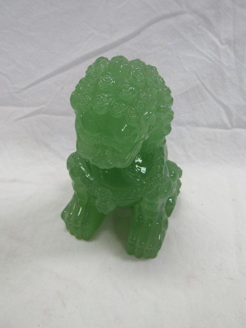 Jadeite Foo Lion