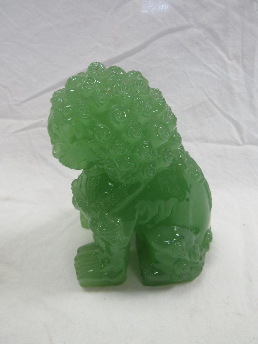Jadeite Foo Lion - 2