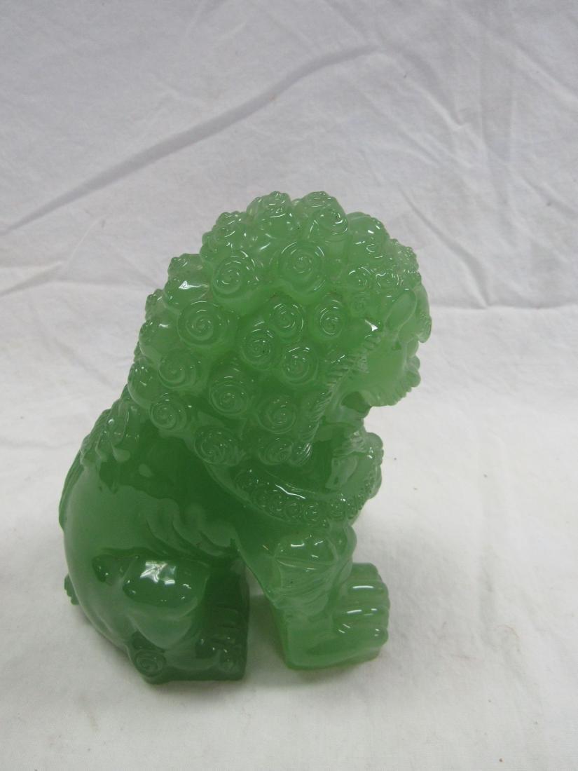 Jadeite Foo Lion - 4
