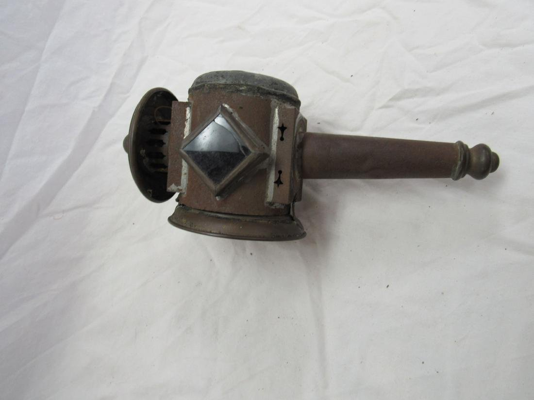 Early Copper Stage Coach Light - 3