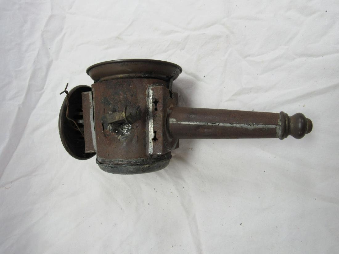 Early Copper Stage Coach Light - 5