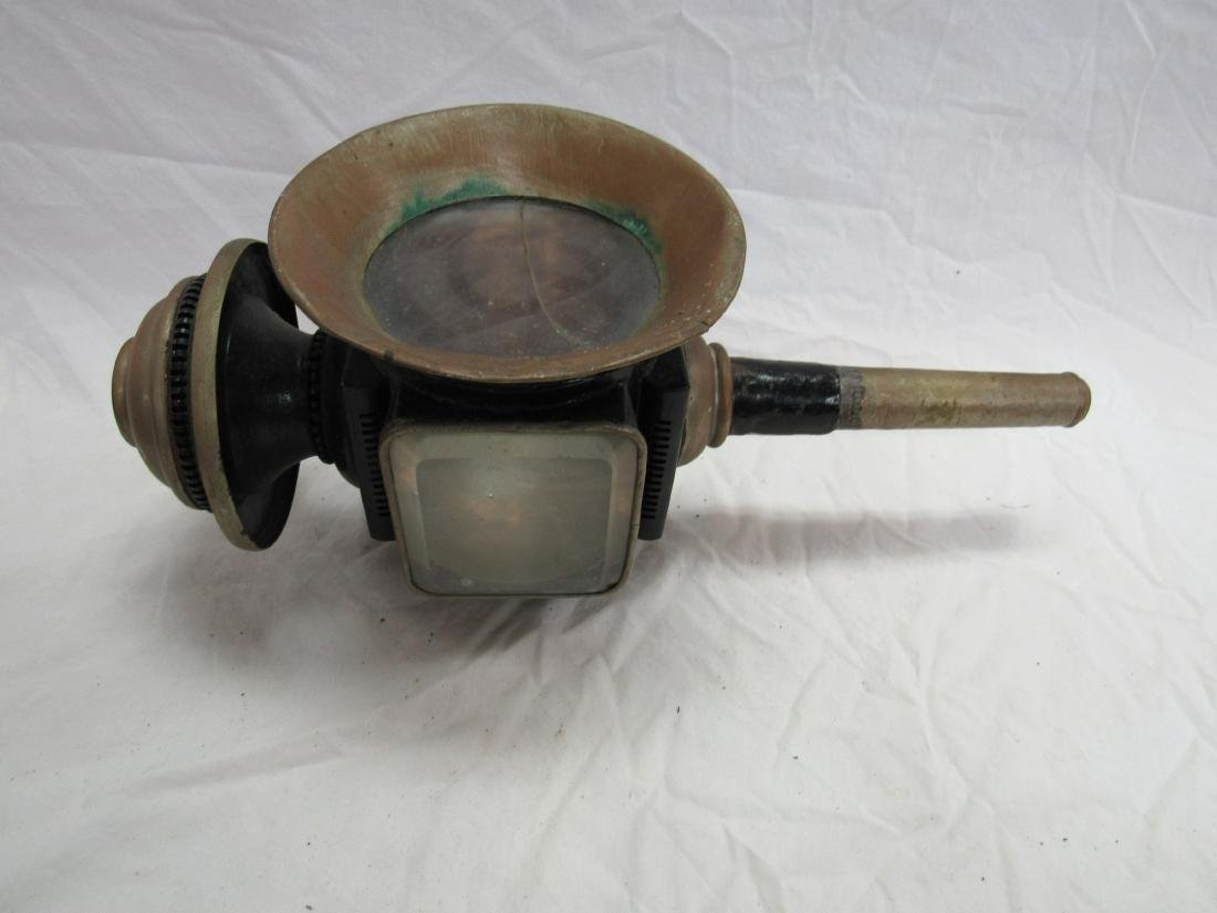 Early Copper Carriage Light - 3
