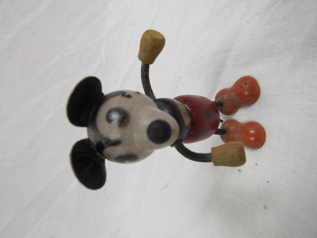 Antique Wooden Micky Mouse