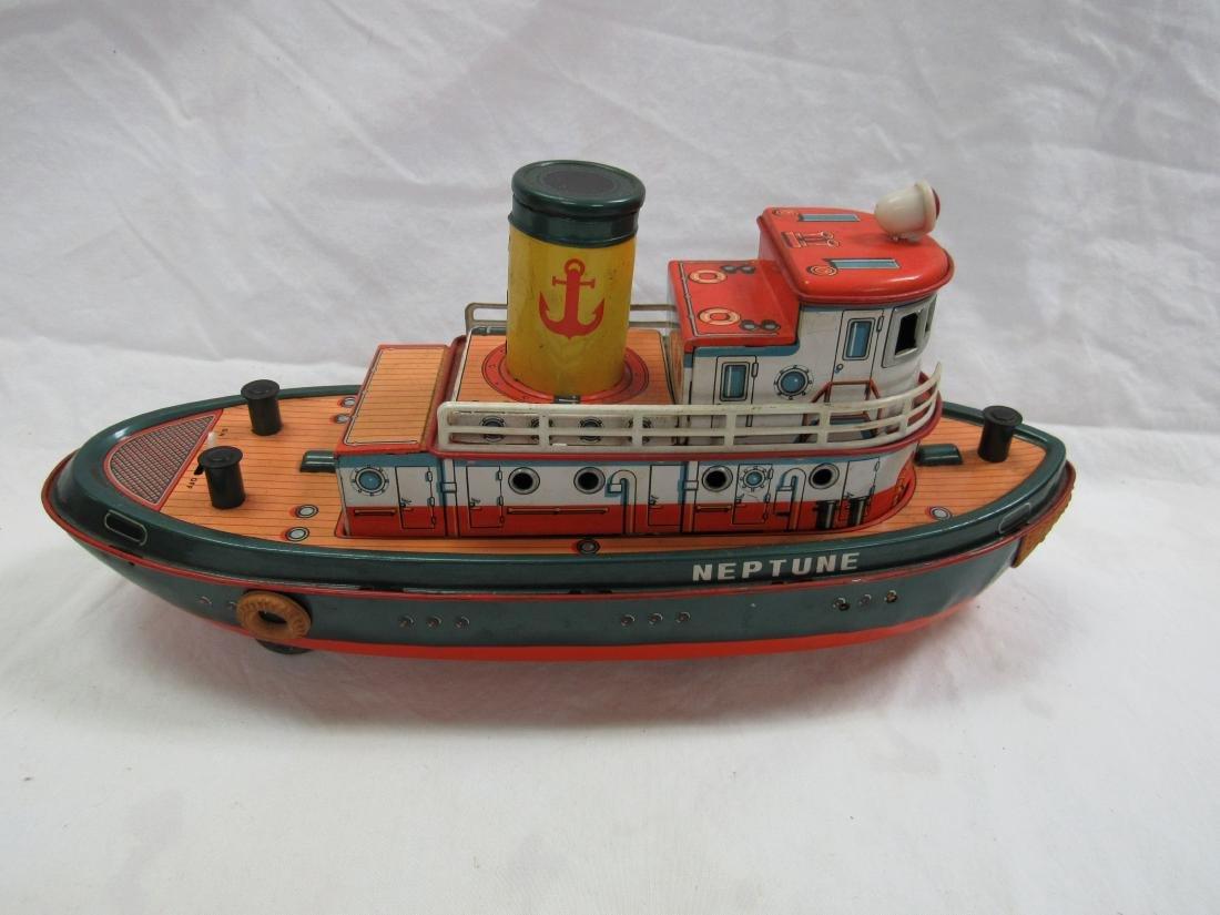 Vintage Modern Toys Neptune Tug Boat