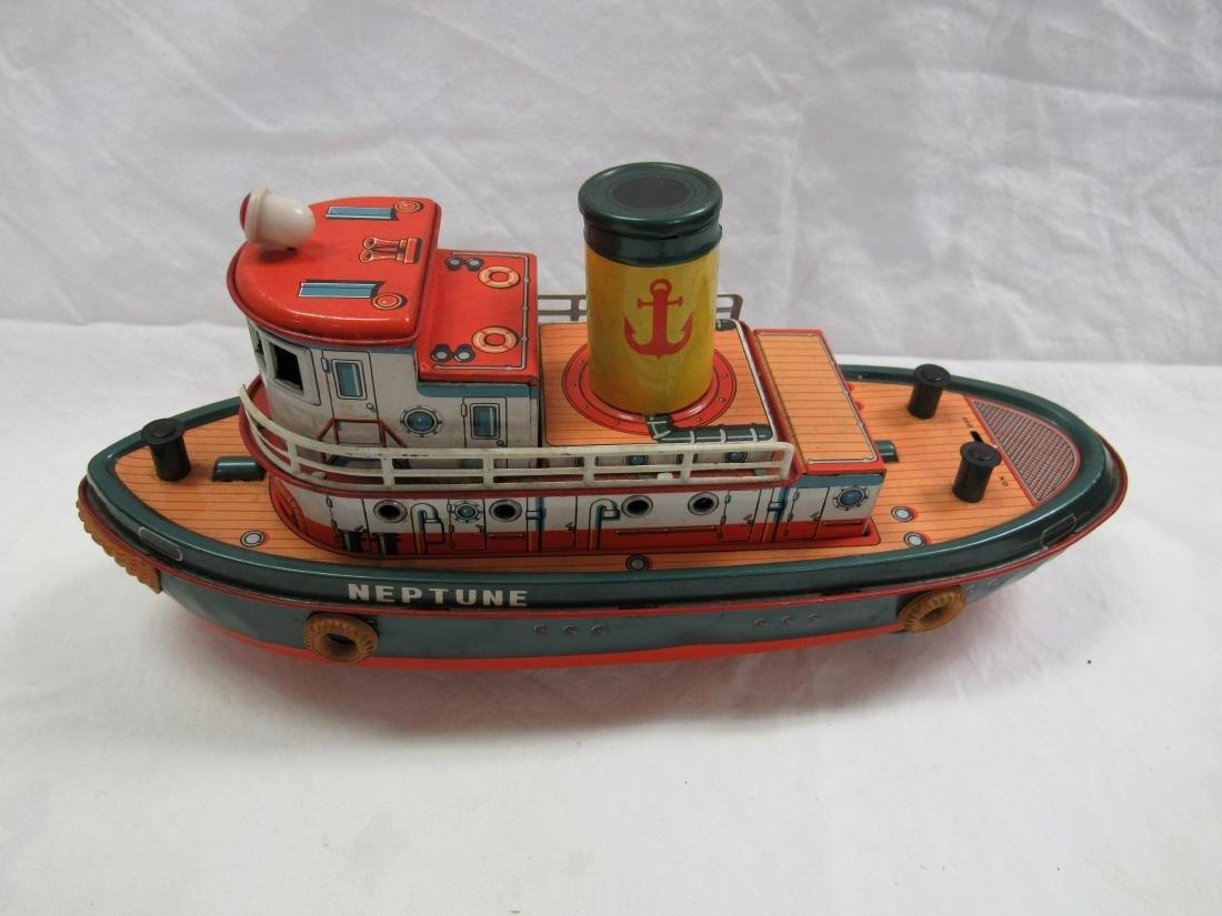 Vintage Modern Toys Neptune Tug Boat - 2