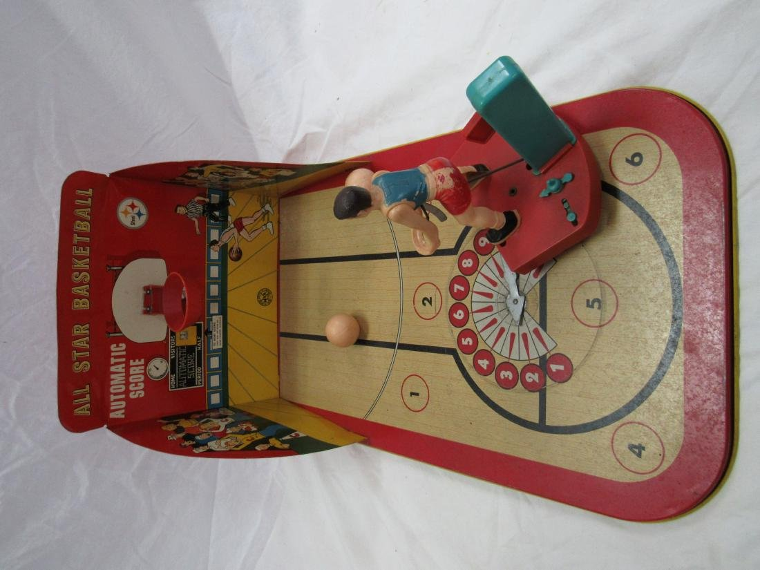 Marx All-Star Basketball Tin Game - 2