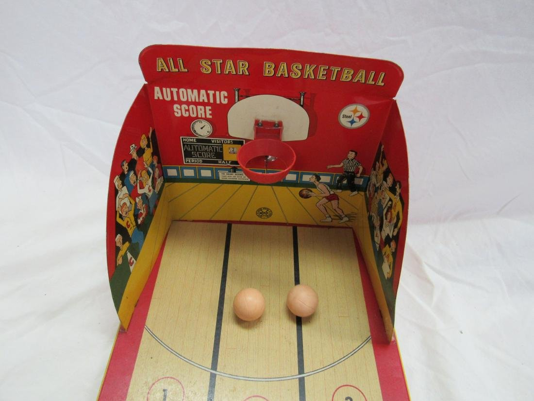 Marx All-Star Basketball Tin Game - 5